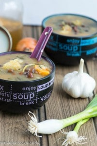 Jamaican gungo peas soup (meat free, vegan style)