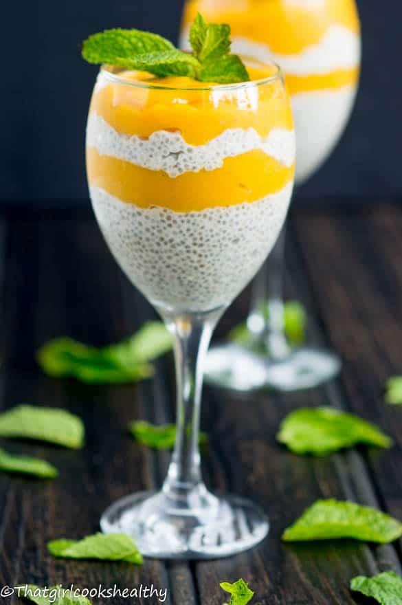 Mango chia seed pudding5