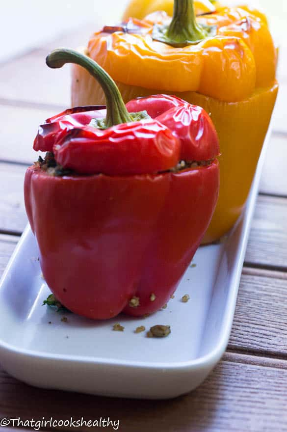 Quinoa stuffed peppers4