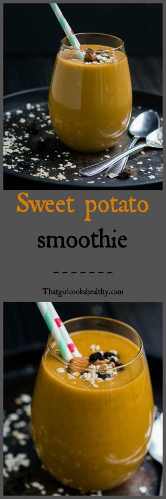 sweet potato collage 341x1024 - Sweet potato pie smoothie