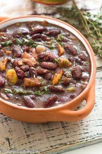Belizean inspired stew beans (vegan style)
