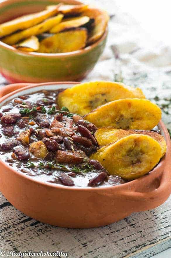 Belizean inspired stew beans
