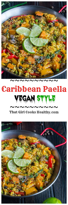 Vegan paella caribbean paella that girl cooks healthy tag thatgirlcookshealthy on instagram and hashtag it thatgirlcookshealthy caribbean paella image forumfinder Gallery