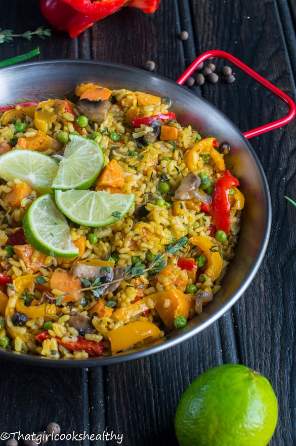 Caribbean paella vegan style that girl cooks healthy caribbean paella2 forumfinder Image collections