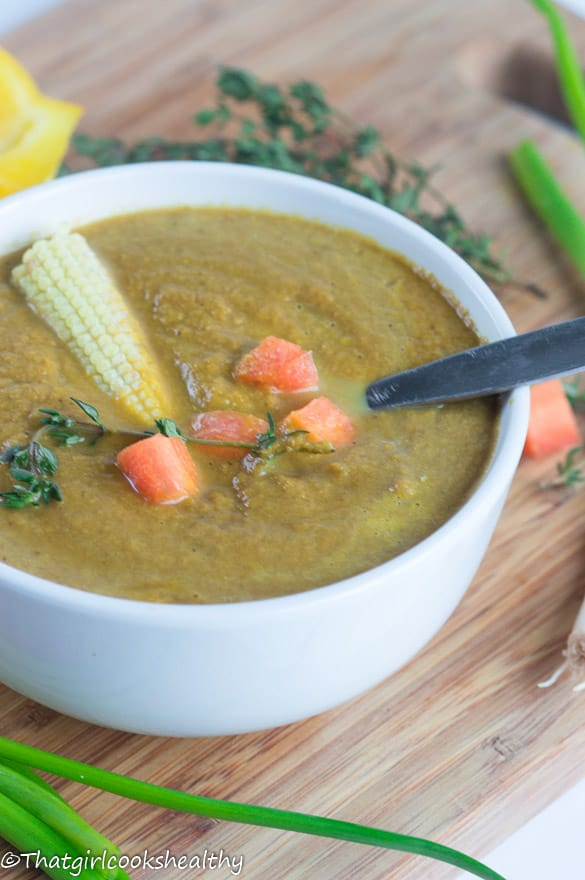 Carrot and turmeric soup5