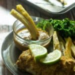 Baked fish with green plantain fries6 150x150 - Baked fish with green plantain fries