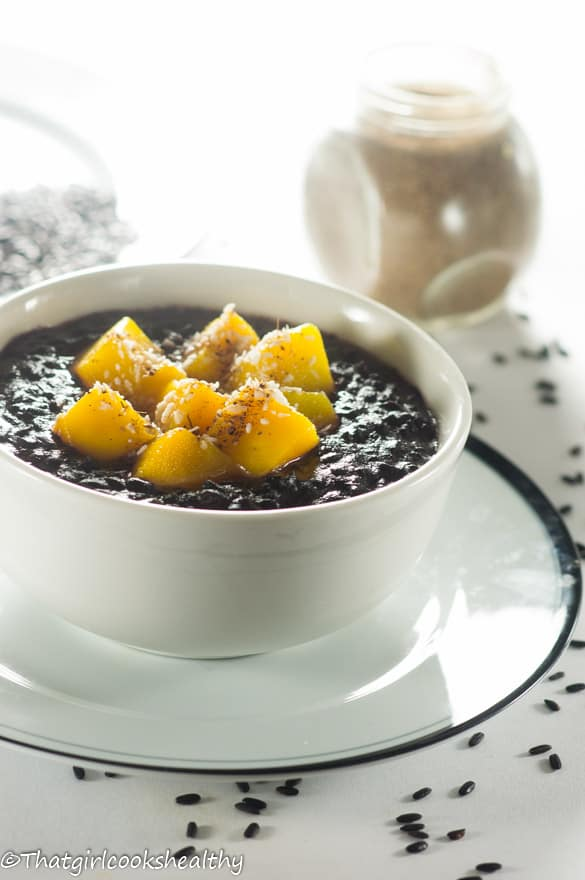 Cardamom black rice pudding2