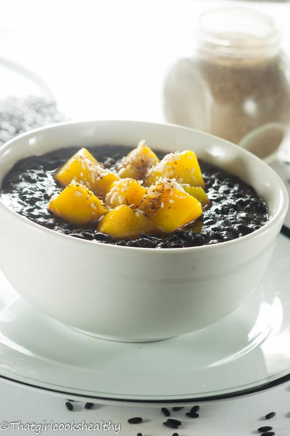 Cardamom black rice pudding3