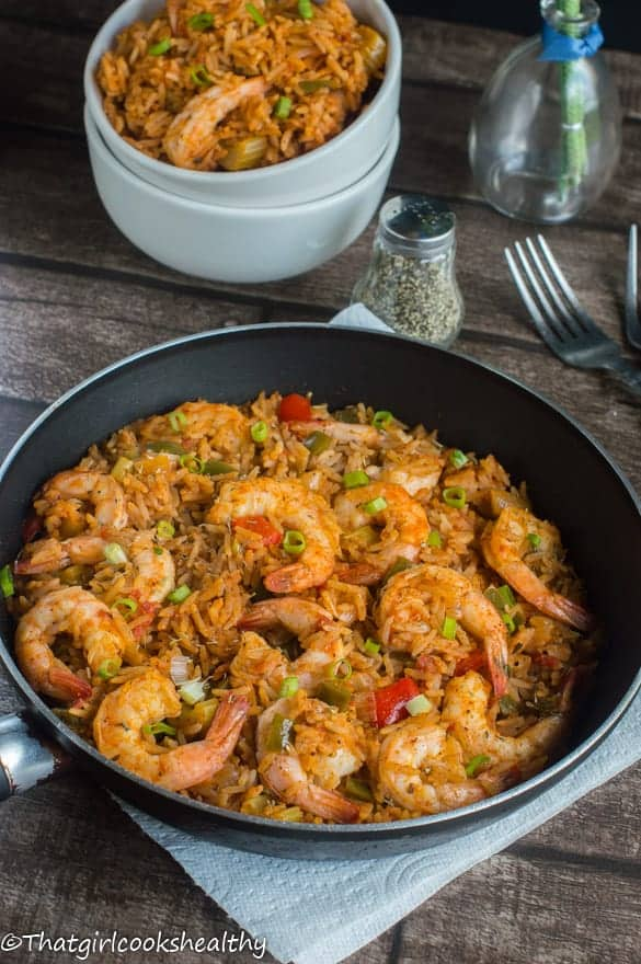 Creole shrimp jambalaya that girl cooks healthy - French cuisine influences ...
