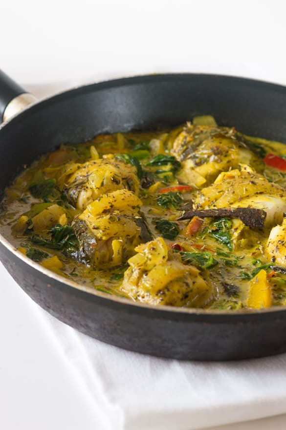 Cinnamon and coconut stew fish curry2