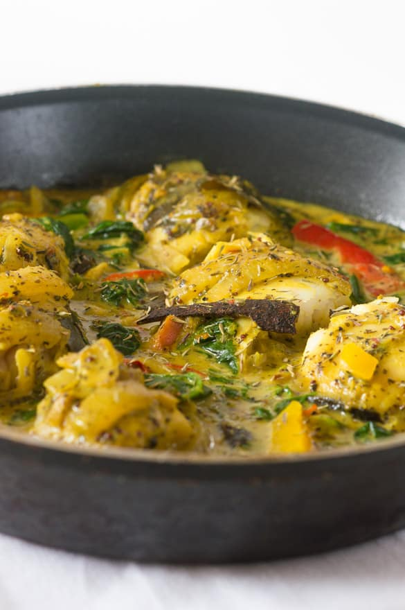 Cinnamon and coconut stew fish curry5