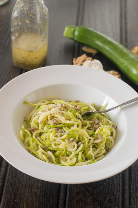 Garlicky zoodles4