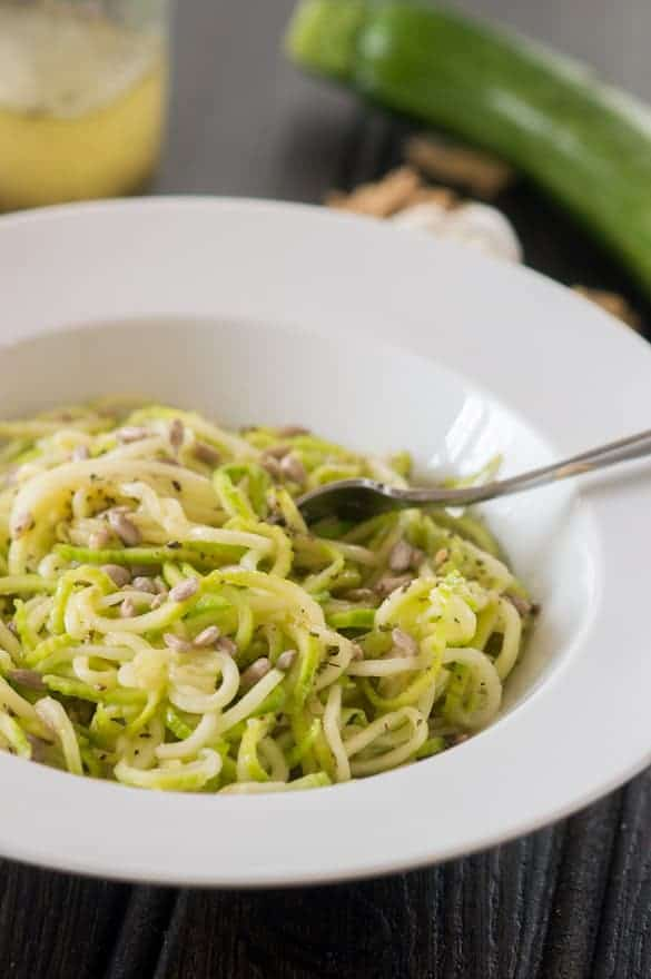 Garlicky zoodles5