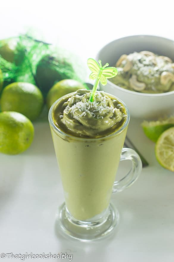 Lime and avocado pudding4