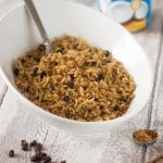Arroz con coco (Colombian coconut rice)