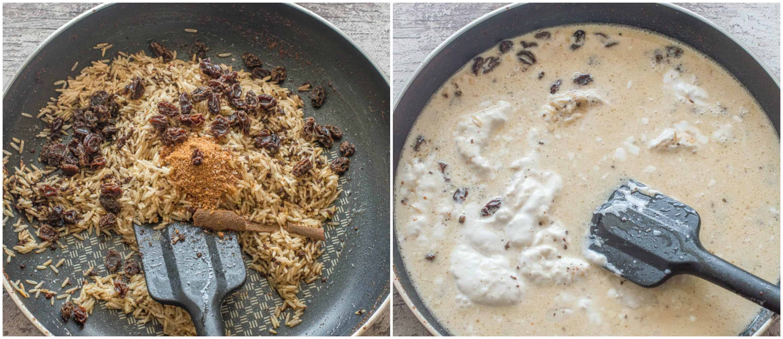 arroz con coco steps 3-4