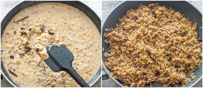 arroz con coco steps 5-6