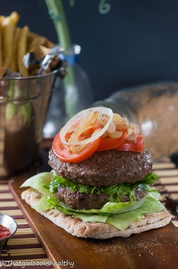 Jamaican Jerk Burgers Recipe — Dishmaps
