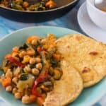 Vegetable and chickpea stew 150x150 - Vegan chickpea stew recipe