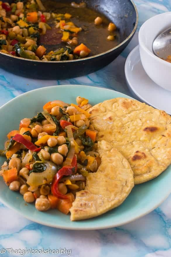 Vegetable and chickpea stew