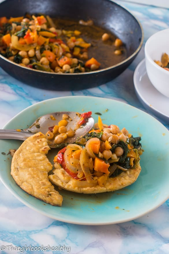 Vegetable and chickpea stew5