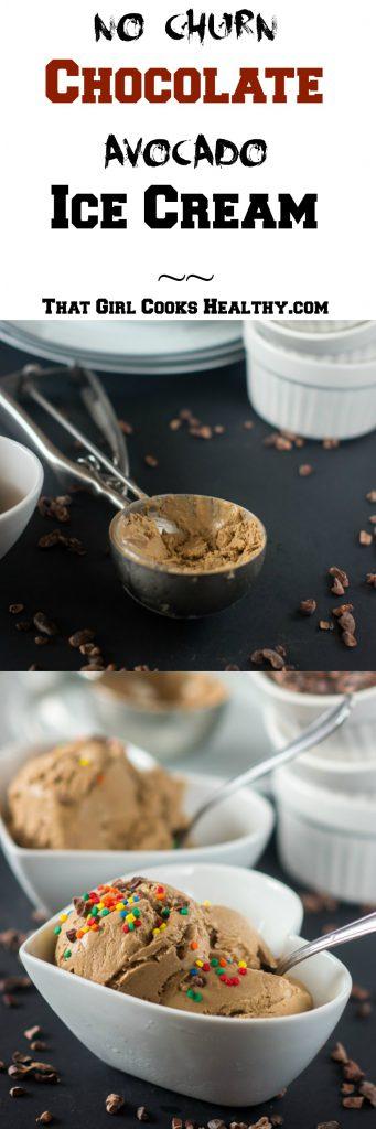 chocolate avocado ice cream