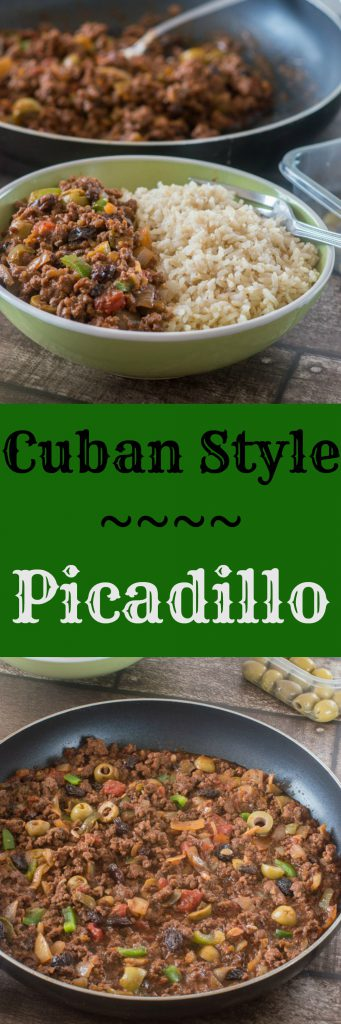 Cuban style picadillo