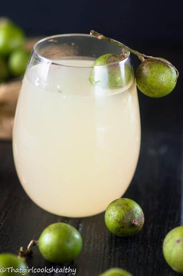 Guinep juice2