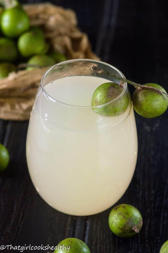 Guinep juice4