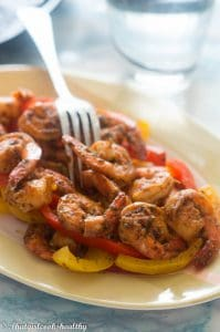Sweet chili shrimp