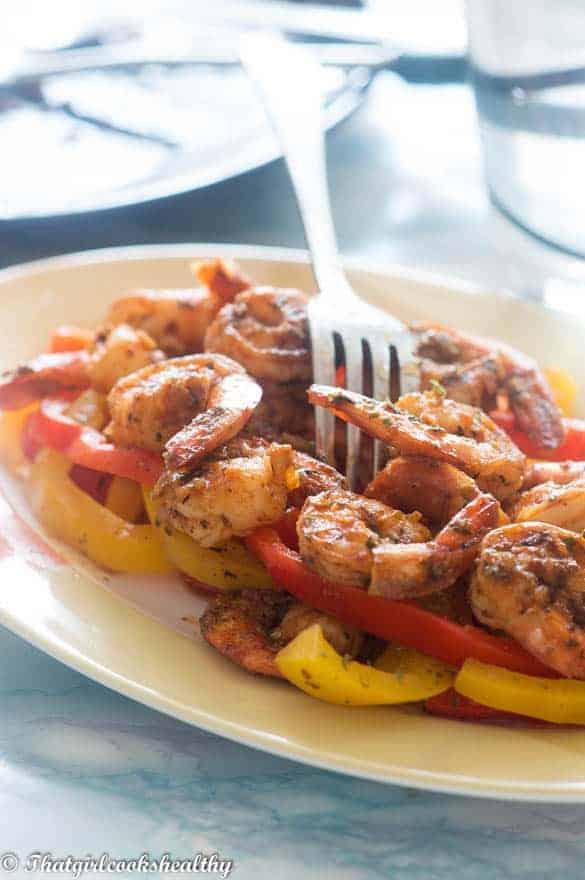 Sweet paprika shrimp3