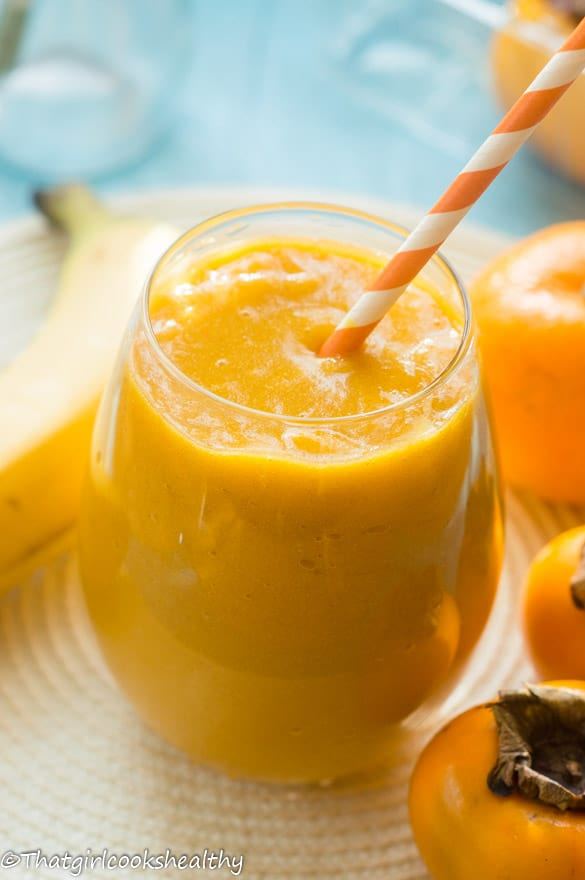 Tropical fruit smoothie3