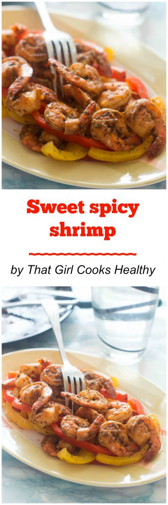 sweet spicy shrimp - paleo and gluten free
