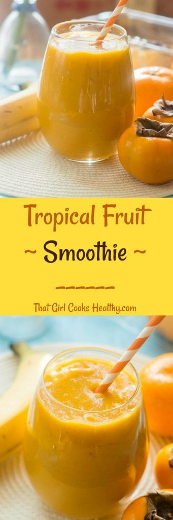 tropical fruit smoothie collage 341x1024 - Tropical fruit smoothie