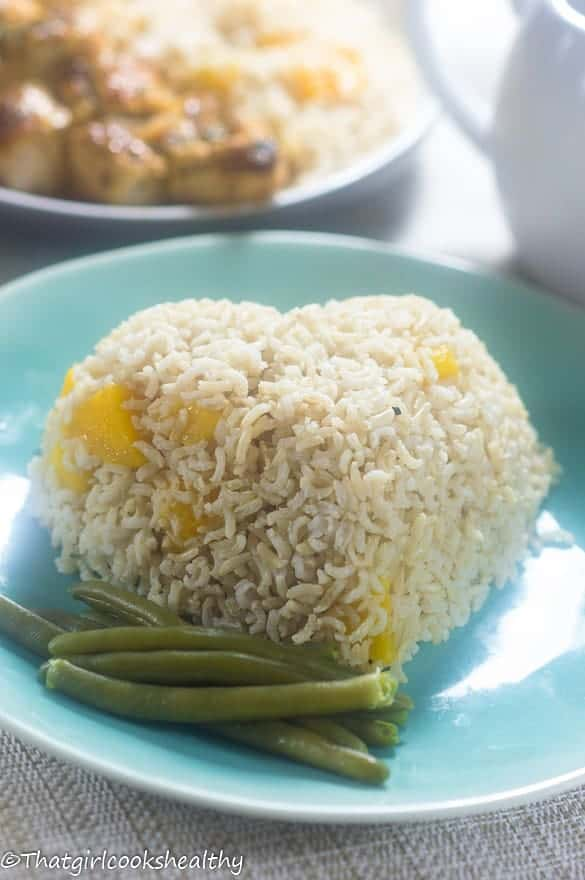 Mango coconut rice5