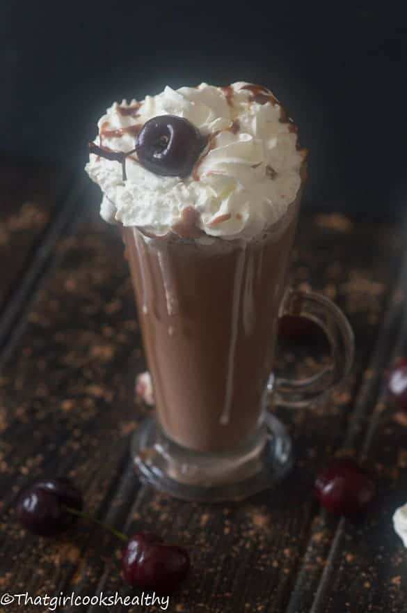 Cherry hot chocolate5