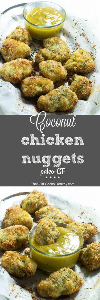 coconut chicken nuggets