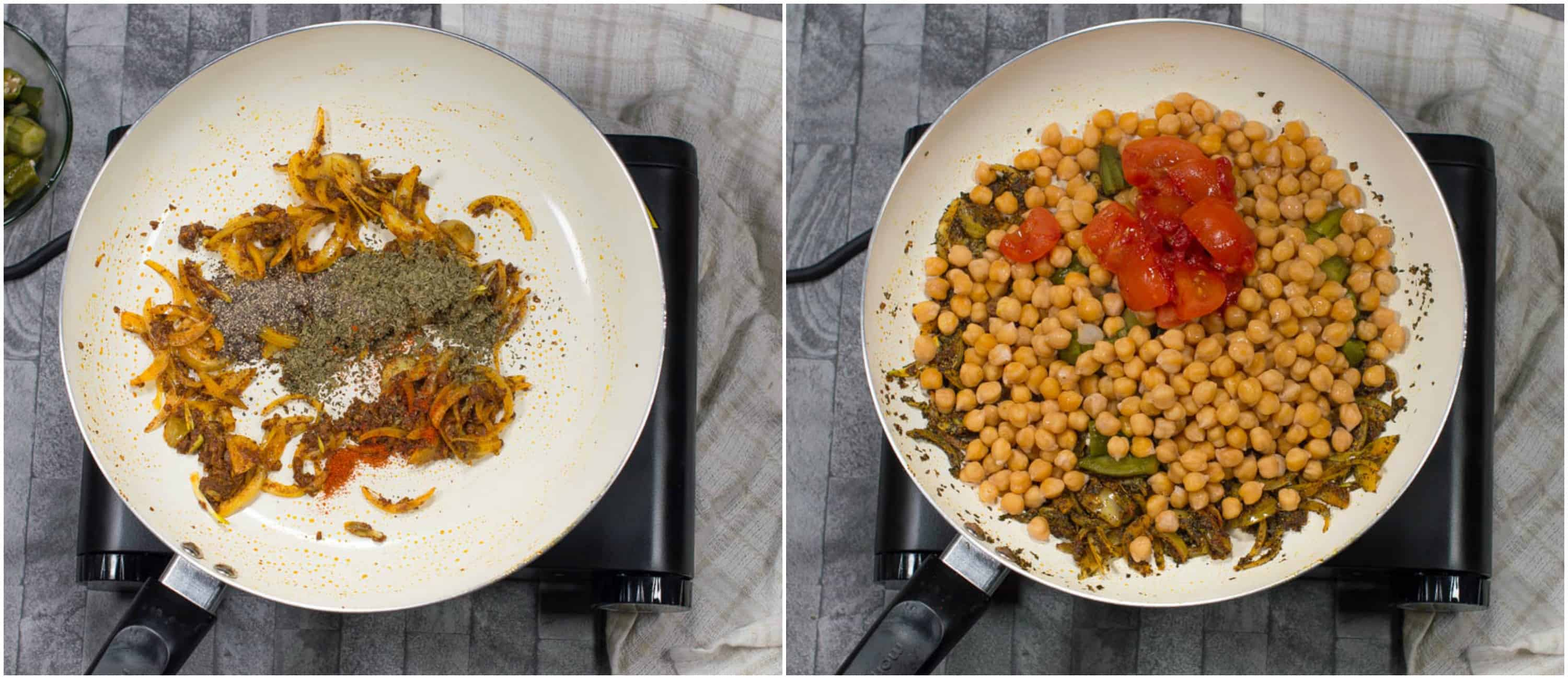 Vegan chickpea curry - That Girl Cooks Healthy