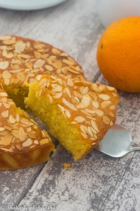 Flourless orange almond cake - Flourless orange almond cake