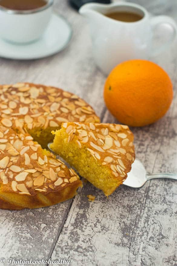 Flourless orange almond cake - That Girl Cooks Healthy