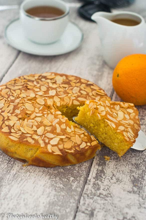 Flourless orange almond cake3 - Flourless orange almond cake
