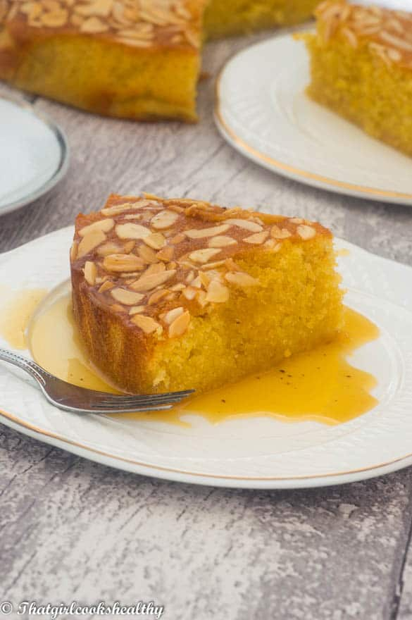 Flourless orange almond cake5 - Flourless orange almond cake
