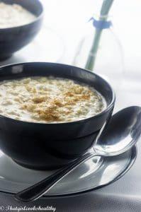 Jamaican rice porridge