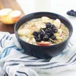 Blueberry and apple oatmeal 150x150 - Blueberry apple oatmeal (vegan)