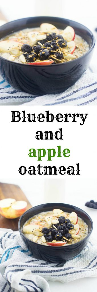 blueberry and apple pin Image 341x1024 - Blueberry apple oatmeal (vegan)