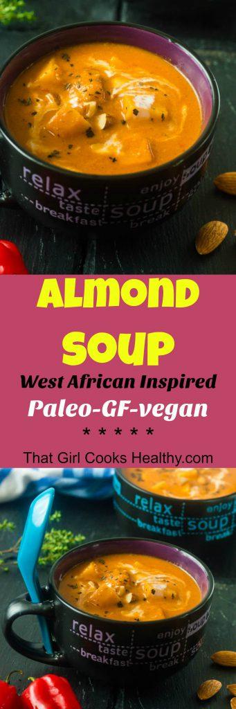 Almond soup