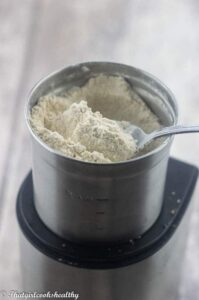 Powdered coconut sugar