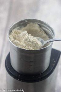 Powdered coconut sugar