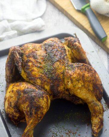 Sweet paprika roast chicken