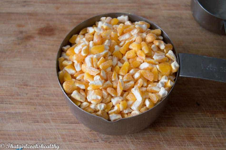 Hominy corn - Chicheme (Vegan style)